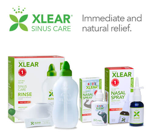 how to use saline nasal spray to clear sinuses